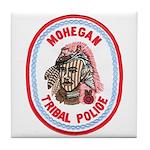 Mohegan Police Tile Coaster