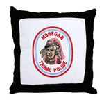 Mohegan Police Throw Pillow