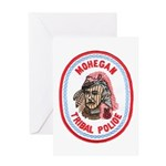 Mohegan Police Greeting Card