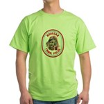 Mohegan Police Green T-Shirt