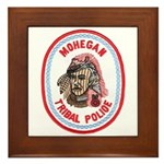 Mohegan Police Framed Tile
