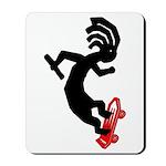Kokopelli Skateboard Mousepad