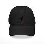 Kokopelli Skateboard Black Cap