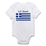 Greek  Baby Onesie