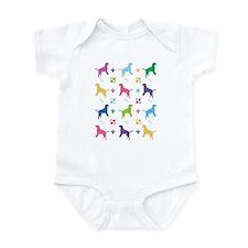Labrador Retriever Designer Infant Bodysuit