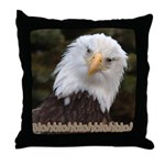 Blahblahblah Throw Pillow