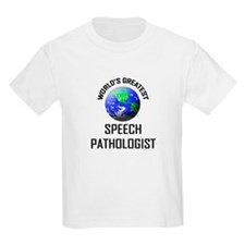 World's Greatest SPEECH PATHOLOGIST T-Shirt