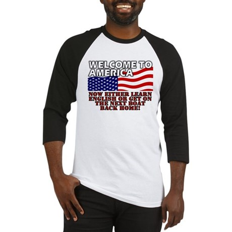 Welcome to America Baseball Jersey