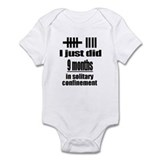 Solitary confinement Infant Bodysuit