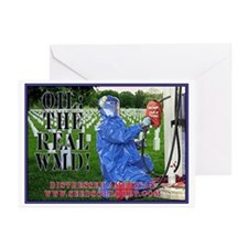 Oil The Real WMD Greeting Cards (Pk of 10)