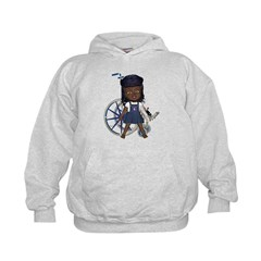 Katy Broken Left Arm Kids Hoodie