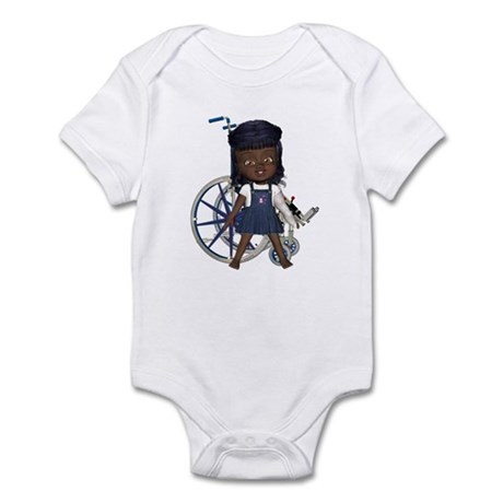 Katy Broken Left Arm Infant Bodysuit
