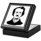 edgar allen poe Keepsake Box