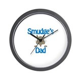 Smudge's Dad Wall Clock