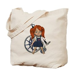 Kit Broken Left Arm Tote Bag