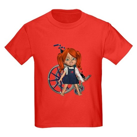 Kit Broken Left Arm Kids Dark T-Shirt