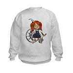 Kit Broken Left Arm Kids Sweatshirt