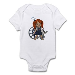 Kit Broken Left Arm Infant Bodysuit
