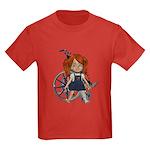 Kit Broken Left Leg Kids Dark T-Shirt