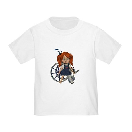 Kit Broken Left Leg Toddler T-Shirt