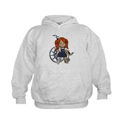 Kit Broken Right Leg Kids Hoodie