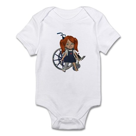 Kit Broken Right Leg Infant Bodysuit