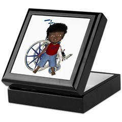 Keith Broken Left Arm Keepsake Box