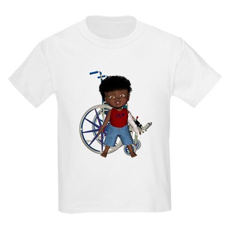 Keith Broken Left Arm Kids Light T-Shirt