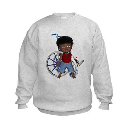 Keith Broken Left Arm Kids Sweatshirt