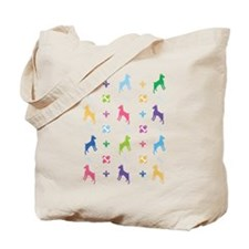 Minature Pinscher Designer Tote Bag