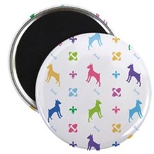 Minature Pinscher Designer Magnet