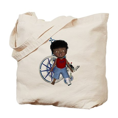 Keith Broken Left Leg Tote Bag