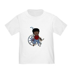 Keith Broken Left Leg Toddler T-Shirt