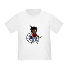 Keith Broken Left Leg Toddler T-Shirt