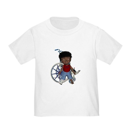 Keith Broken Right Leg Toddler T-Shirt