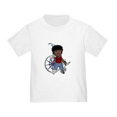Keith Broken Right Leg Toddler T-Shirt