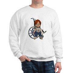 Kevin Broken Left Arm Sweatshirt
