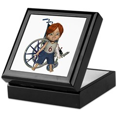 Kevin Broken Left Arm Keepsake Box