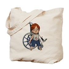 Kevin Broken Left Arm Tote Bag