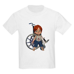 Kevin Broken Left Arm Kids Light T-Shirt