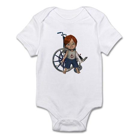 Kevin Broken Left Arm Infant Bodysuit