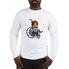 Kevin Broken Left Leg Long Sleeve T-Shirt