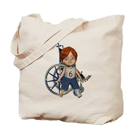 Kevin Broken Left Leg Tote Bag