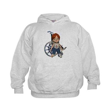 Kevin Broken Left Leg Kids Hoodie