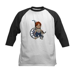 Kevin Broken Left Leg Kids Baseball Jersey