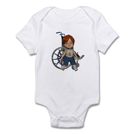 Kevin Broken Left Leg Infant Bodysuit