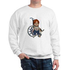 Kevin Broken Right Leg Sweatshirt