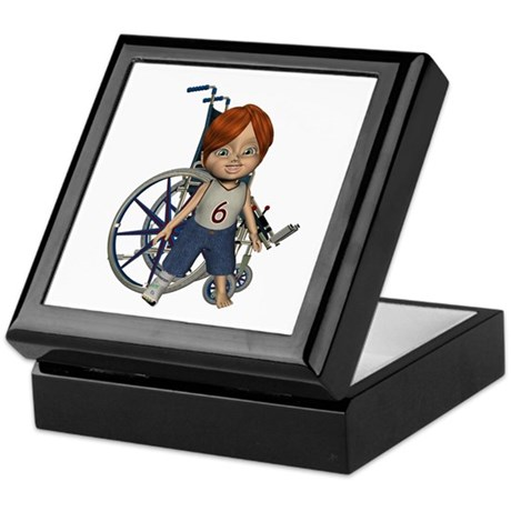 Kevin Broken Right Leg Keepsake Box