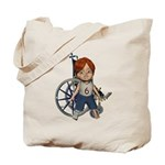 Kevin Broken Right Leg Tote Bag