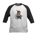 Kevin Broken Right Leg Kids Baseball Jersey